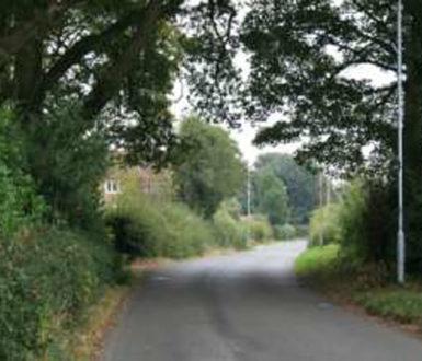 A view along Shenton Lane